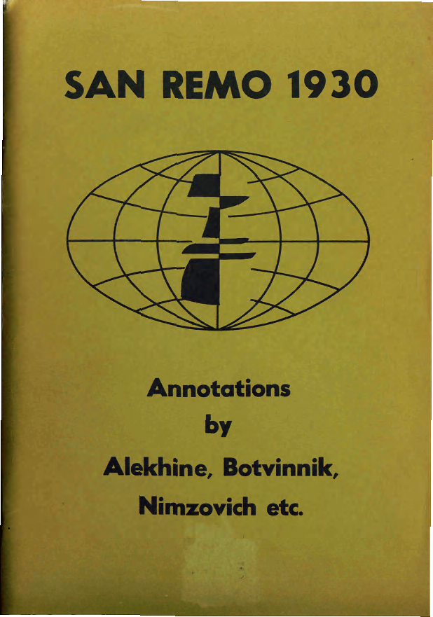Alekhine, Alexander - San Remo 1930.pdf