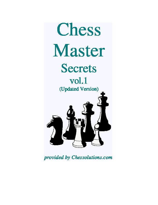Chess Master Secrets Vol 1.pdf