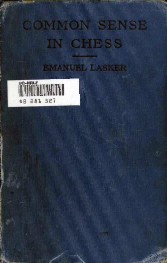 Common Sense In Chess Lasker.pdf