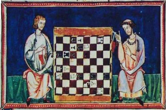 1283 Alfonso chess problem from the Libro de los juegos.jpg