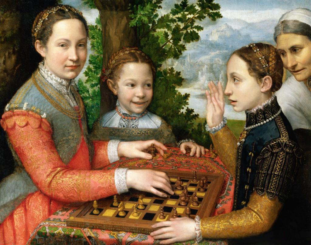 1555 Artists Sister Playing Chess Sofonisba Anguissola.jpg