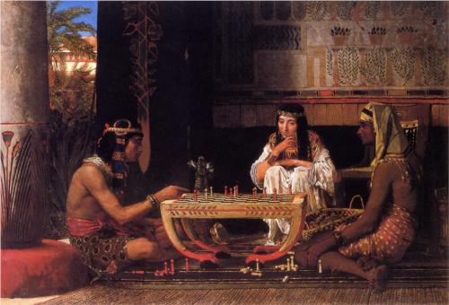 1865 Egyptian Chess Players by Lawrence Alma-Tadema.jpg