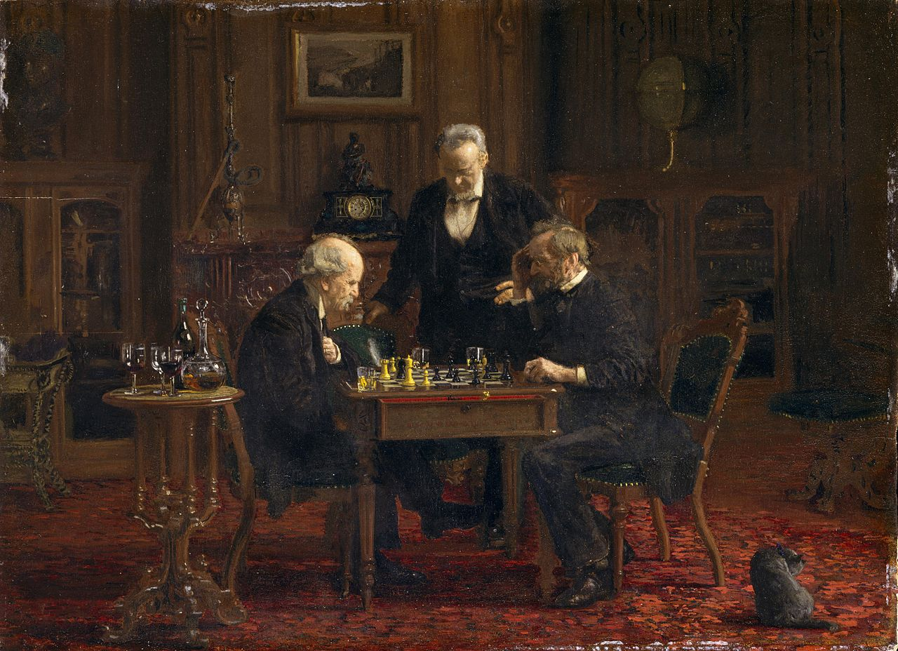 1876 The Chess Players by Thomas Eakins.jpeg