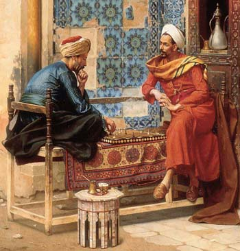 1896 The Chess Game by Deutsch.jpg