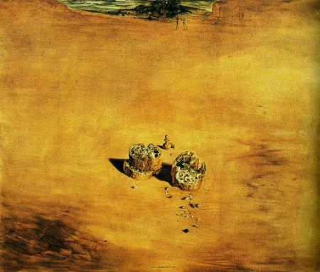 1940 Two Pieces of Bread by Salvador Dali.jpg