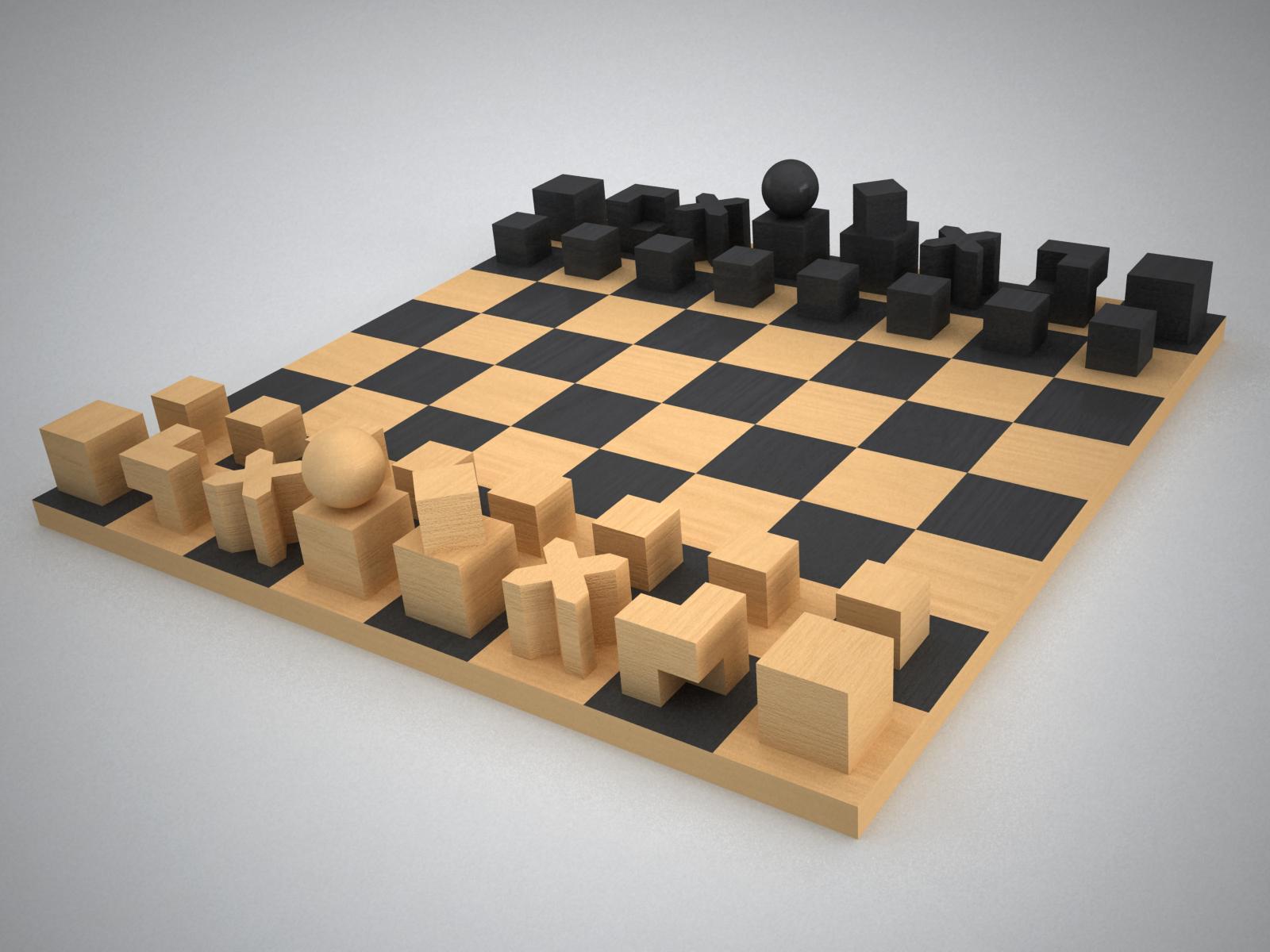 bauhaus-chess-set