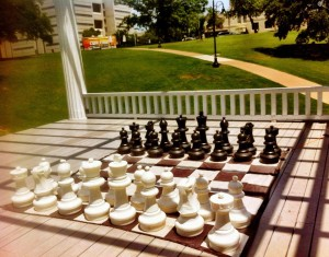 Giant Chess at Woolridge Park
