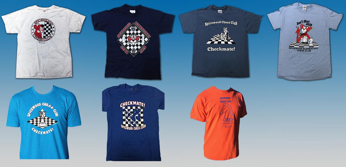 1ec6f3f7 T-shirts | Spicewood Elementary Chess Club